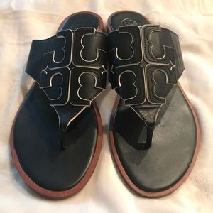 Gently used Tory Sandals